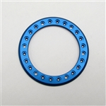 Gear Head RC 1.9 Aluminum Beadlock Rings - Anodized Blue (2)