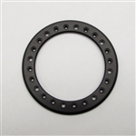 Gear Head RC 2.2 Aluminum Beadlock Rings - Anodized Black (2)