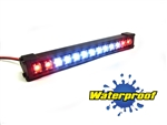 "Gear Head RC 1/10 Scale Trail Torch 4"" LED Light Bar - White and Red"