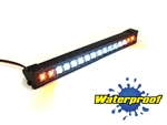 "Gear Head RC 1/10 Scale Trek Torch 5"" LED Light Bar - White and Amber"