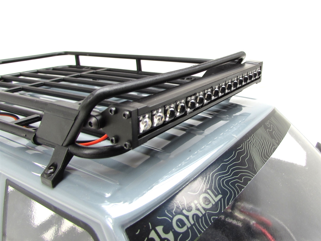 Gear head rc 110 scale trek torch 5 led light bar white and amber aloadofball Image collections