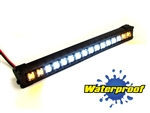 "Gear Head RC 1/10 Scale Trek Torch 5"" LED Light Bar - White and Yellow"