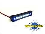 "Gear Head RC 1/10 Scale Terra Torch 3"" LED Light Bar - White and Blue"
