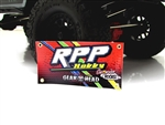 RPP Hobby 2016 1/10 Scale Orange Vinyl Banner
