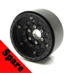 "Gear Head RC 1.9"" 12-Pack EZ-Loc Wheel, Delrin (1) Spare"