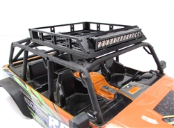 Gear Head RC White Trail Torch plus Rubicon Roof Rack Combo
