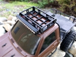 Gear Head RC White Trail Torch plus Short Roof Rack Combo