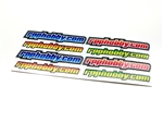Sticker Sheet - rpphobby.com - Bright Colors
