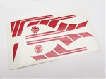 Gear Head RC 1/10 Scale TOY Vinyl Graphics Kit - Red