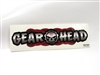 Gear Head RC Full Scale Decal - Red