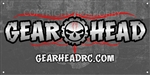 Gear Head RC Logo 18 in x 36 in Banner