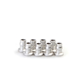 Gmade Aluminum Shock End Ball 7x8.5mm Silver (8)