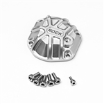 Gmade 3D Machined Differential Cover (Silver) (1) for GS01 Axle
