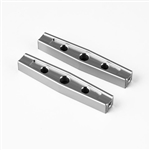 Gmade GS01 Machined M3 54mm Upper Link (2) (Silver)