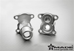 Gmade Aluminum Straight Axle Adapter (2) for Gmade R1 Axle
