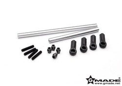Gmade Heavy Duty Front Steering Rods for Gmade Crawler R1 Rock Buggy