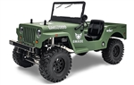 Gmade Military Sawback 4 LS RTR 4WD Off- Road Vehicle 1/10th Scale w/ GS01 Chassis