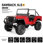 Gmade SAWBACK 4LS 1/10TH SCALE CRAWLER KIT