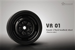 Gmade 1.9 VR01 beadlock wheels (Black) (2)
