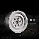 "Gmade 1.9"" SR03 Beadlock Wheels (Gloss white) (2)"