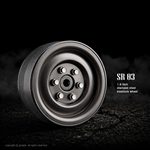 "Gmade 1.9"" SR03 Beadlock Wheels (Uncoated steel) (2)"