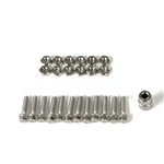 Gmade M2.5x10mm Scale Hex Bolt & Nut Set