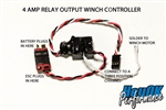 HeyOK 4A Relay Winch Controller for Radio with Three Position Channel - High Voltage