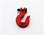 Hot Racing Winch 1/10 Scale Hook (Red)