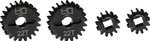 Hot Racing Over Drive Machined Portal Gear Set 13-22T: Axial UTB