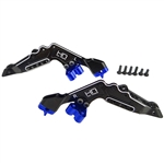 Hot Racing Aluminum Rear Shock Tower Set - Baja & Rock Rey
