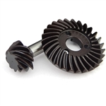 Hot Racing HD Steel Bevel Gear Set 27T / 8T Overdrive SCX10 II