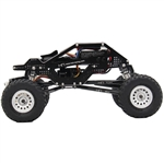 Hot Racing Aluminum Rock Racer Conversion Chassis (Black) SCX24