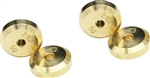Hot Racing Brass Weights for +4mm Steel Axles Axial SCX24 (4)