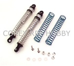 Hot Racing Silver Threaded Shock Set 120mm