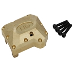 Hot Racing Brass Heavy Metal Axle Diff Cover TRX-4