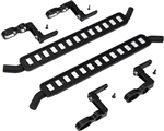 Hot Racing Aluminum ICE Cube Style Rock Rail Side Step (2) TRX-4