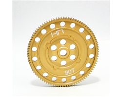 Hot Racing Twin Hammers Hard Aluminum 90t Spur Gear