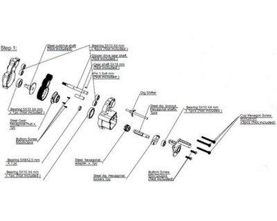 HOTWRA39L 5?1509388456 hot racing dig unit for wraith transmission axial wraith wiring diagram at aneh.co