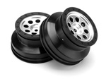 HPI Racing MK.8 WHEEL MATTE CHROME 4.5MM OS (2)