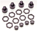 HPI Racing Shock Color Parts Set Dark Brown Anodized Blitz
