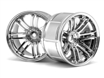HPI Racing LP35 Wheel Rays Volk Racing RE30 Chrome (2) 35mm 9mm Offset