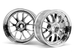 HPI Racing LP29 LM-R Wheel Chrome 29mm (2) 3mm Offset