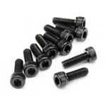 HPI Racing Cap Head Screw M4x12mm (10): HF,D8