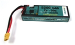 Helios RC 5200mAh 2S 7.4V 50C LiPo Battery - XT60