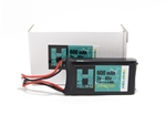 Helios RC 600mAh 2S 7.4V 45C LiPo Battery for SCX24