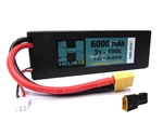 Helios RC 2S 7.6v 6000mAh 100c Graphene LiHV Lipo Battery with Deans Plug