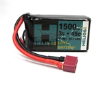 Helios RC 3S 11.1v 1500mAh 45c Lipo Battery with Deans Plug
