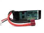 Helios RC 3S 11.1v 3500mAh 30c Lipo Battery with Deans Plug