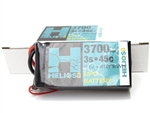 Helios RC 3S 11.1v 3700mAh 45c Shorty Lipo Battery with XT60 Plug