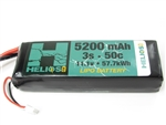 Helios RC 5200mAh 3S 11.1V 50C LiPo Battery - EC5